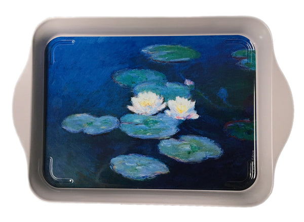 Monet Water Lilies Mini Metal Tray