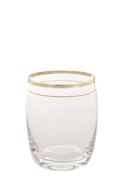 Antan Gold Barrel Small Glass
