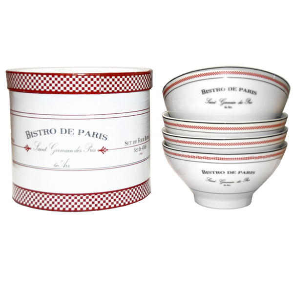 Bistro Bowls (Set of 4 with Gift Box)