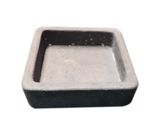 Cement Square Soap Dish