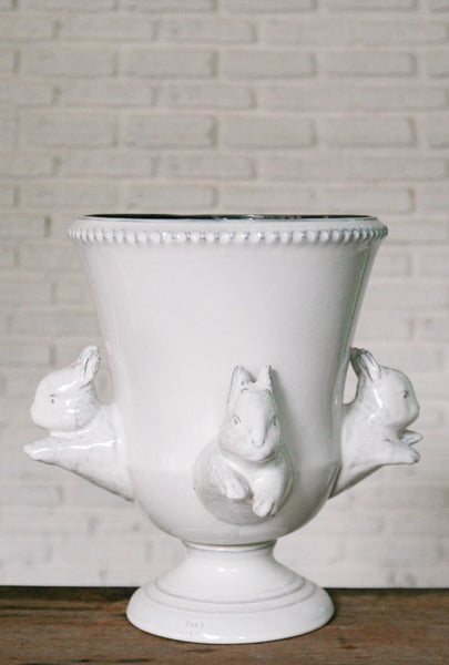 Yarnnakarn Ceramics Big Rabbit Urn
