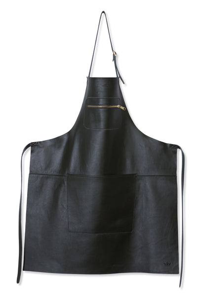 "Dutchdeluxes Full Length Zipper Style ""Amazing Apron"" in Classic Black"