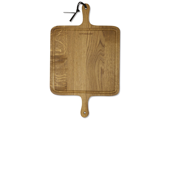 Dutchdeluxes BBQ Square Board French Oak
