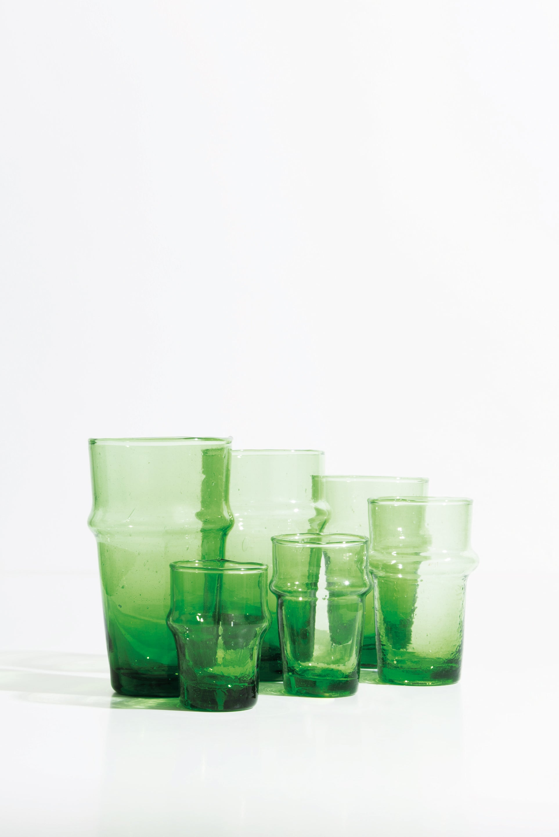 Beldi Large Glass Green
