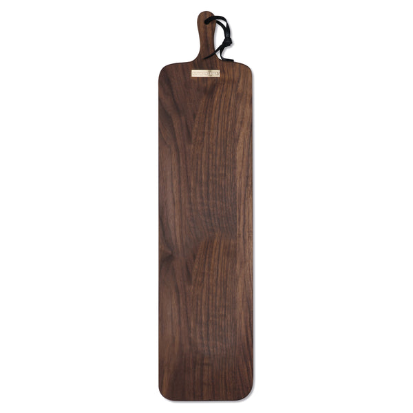 Dutchdeluxes Extra-Long Slim Fit French Walnut Bread Board