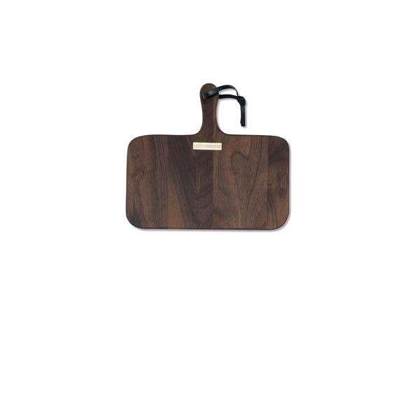 Dutchdeluxes Extra-Small Rectangular French Walnut Bread Board