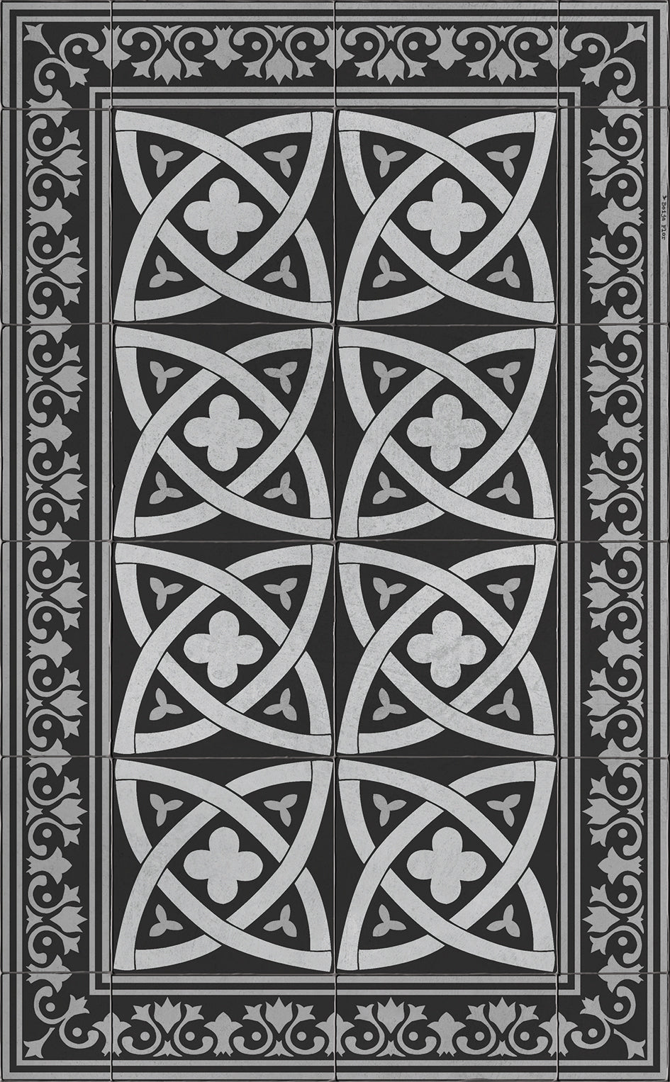 Beija Flor Celtic Floor Mat