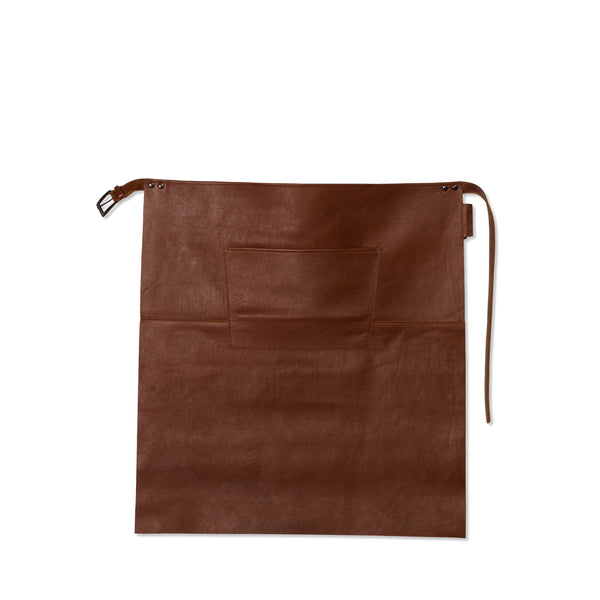 "Dutchdeluxes Waist Long Classic Brown Leather ""Professional Apron"""