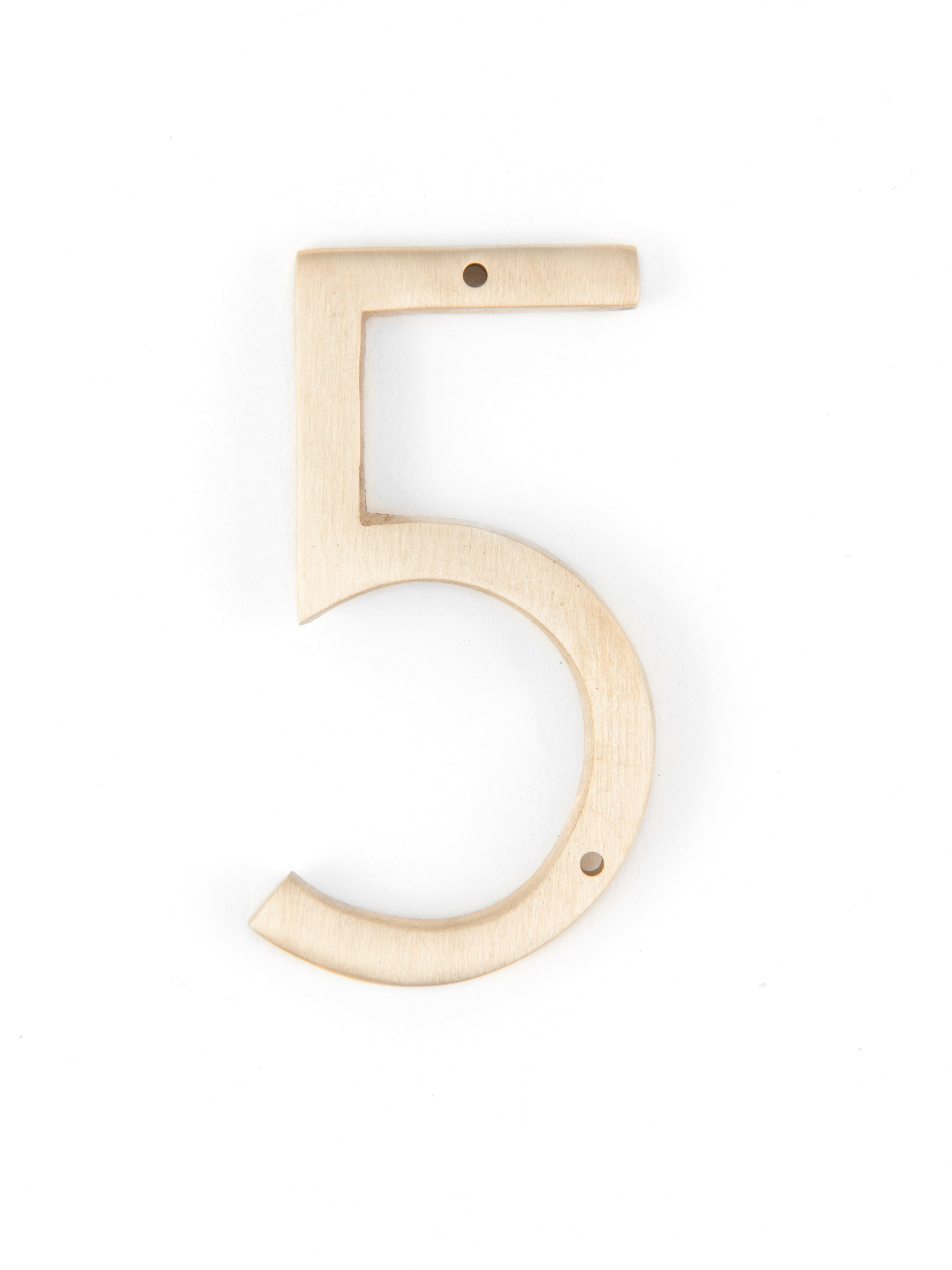 "Orban & Sons Brass Number ""5"""