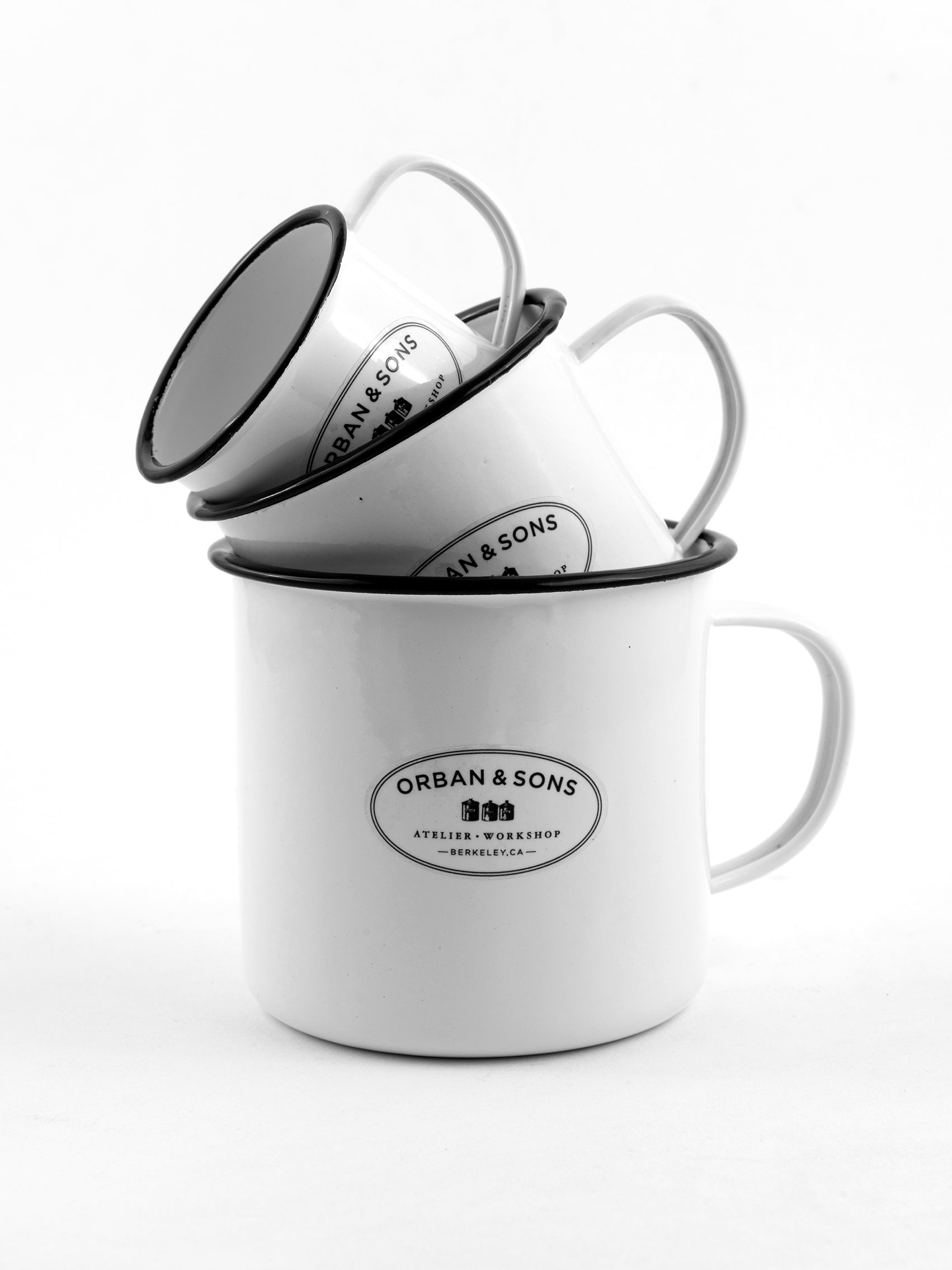 Orban & Sons Enamel Medium Mug