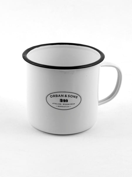 Orban & Sons Enamel Large Mug