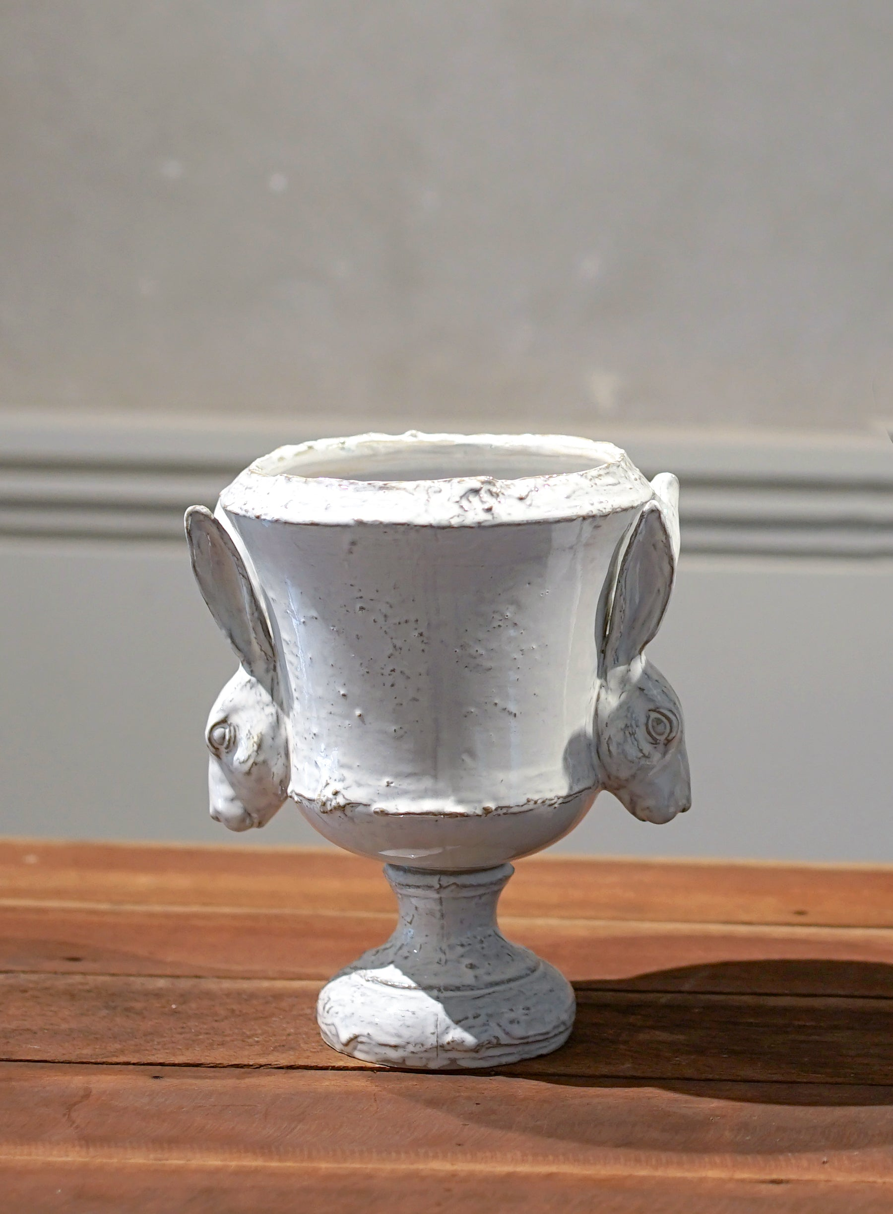 Hare Urn (No. 5 Stained White)