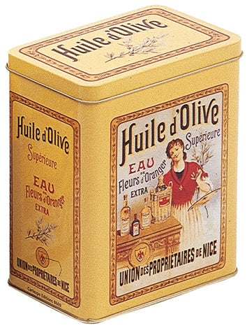 Olive Oil Superieure Large Tin Canister