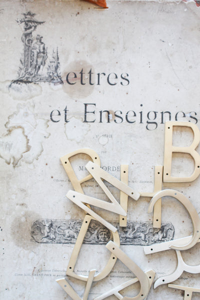 "Orban & Sons Brass Letter ""B"""