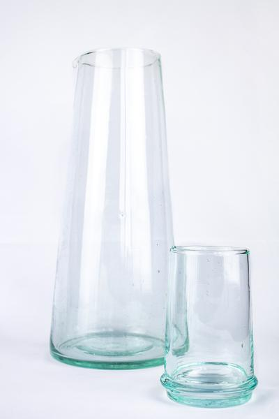 Beldi Large Tapered Tumbler Clear