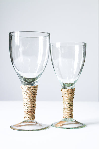 Seagrass Wine Glass Large