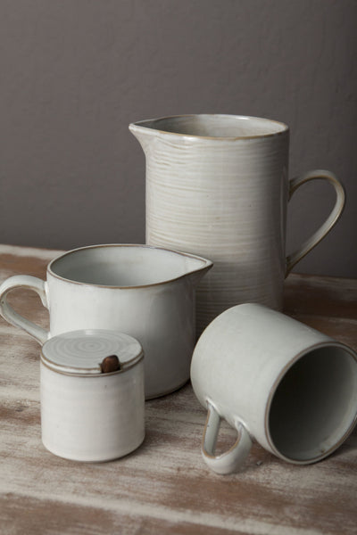Yarnnakarn Rustic Low Pitcher
