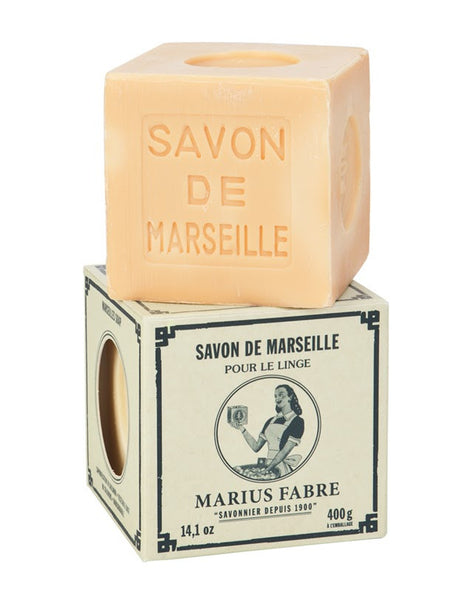 Marseilles White Soap in Paper Box (400g)