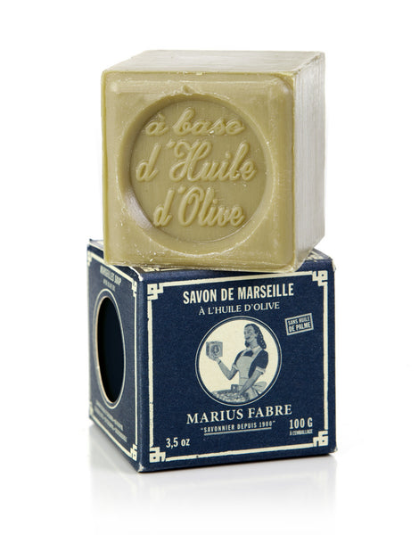 Marseilles Green Soap in Paper Box (100g)