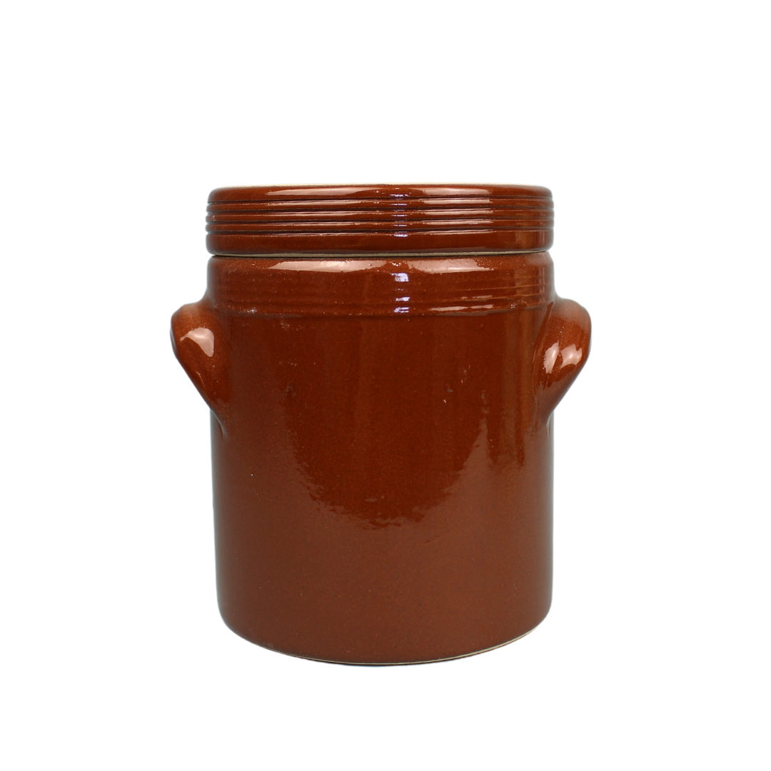 Poterie Renault Condiment Jar Small
