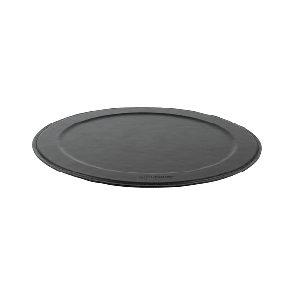 Dutchdeluxes Stylish Serving Tray Round Black