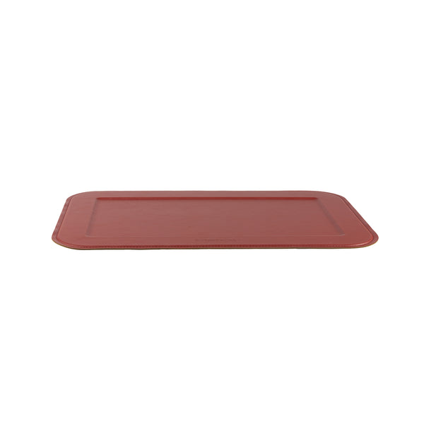 Dutcheluxes Stylish Serving Tray Slim New Ruby Red