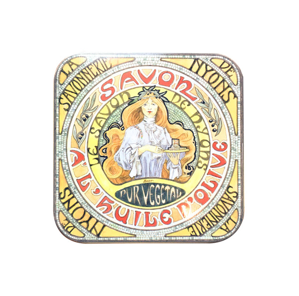 100g Soap in Tin Box - Savon Amande