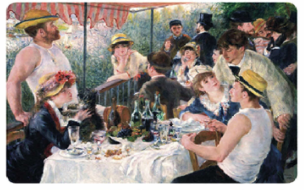 Renoir Luncheon of the Boating Party Placemat