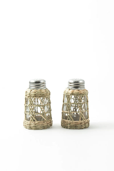 Seagrass Cage Salt & Pepper Set
