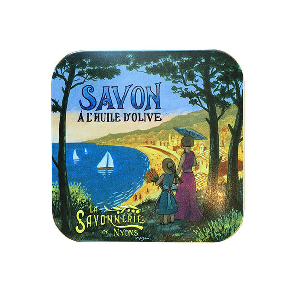 100g Soap in Tin Box- Savon Fleur de Coton