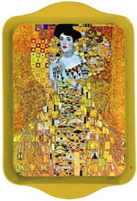 Klimt Portrait of Adele Mini Metal Tray