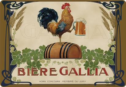 Placemat Biere Gallia