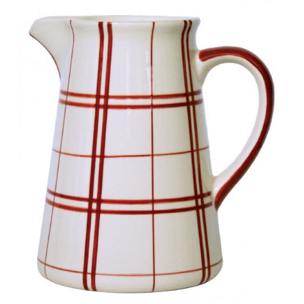 Campagne Red Pitcher Plaid