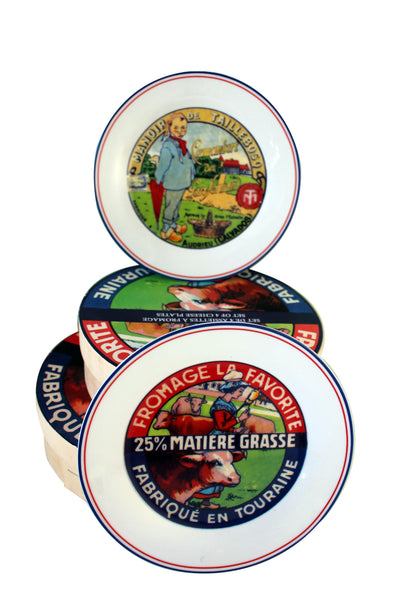 Cheese Plates (Set of 4)
