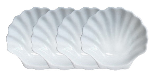 Chef Etoile Shell Plates (Set of 4)