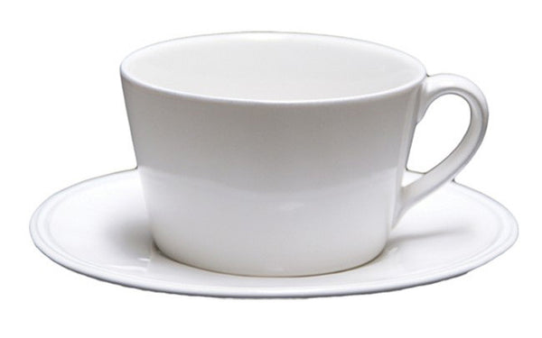 Clos du Manoir Large Teacup & Saucer