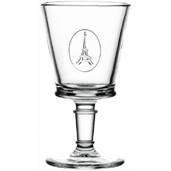 Eiffel Tower Footed Wine Glass