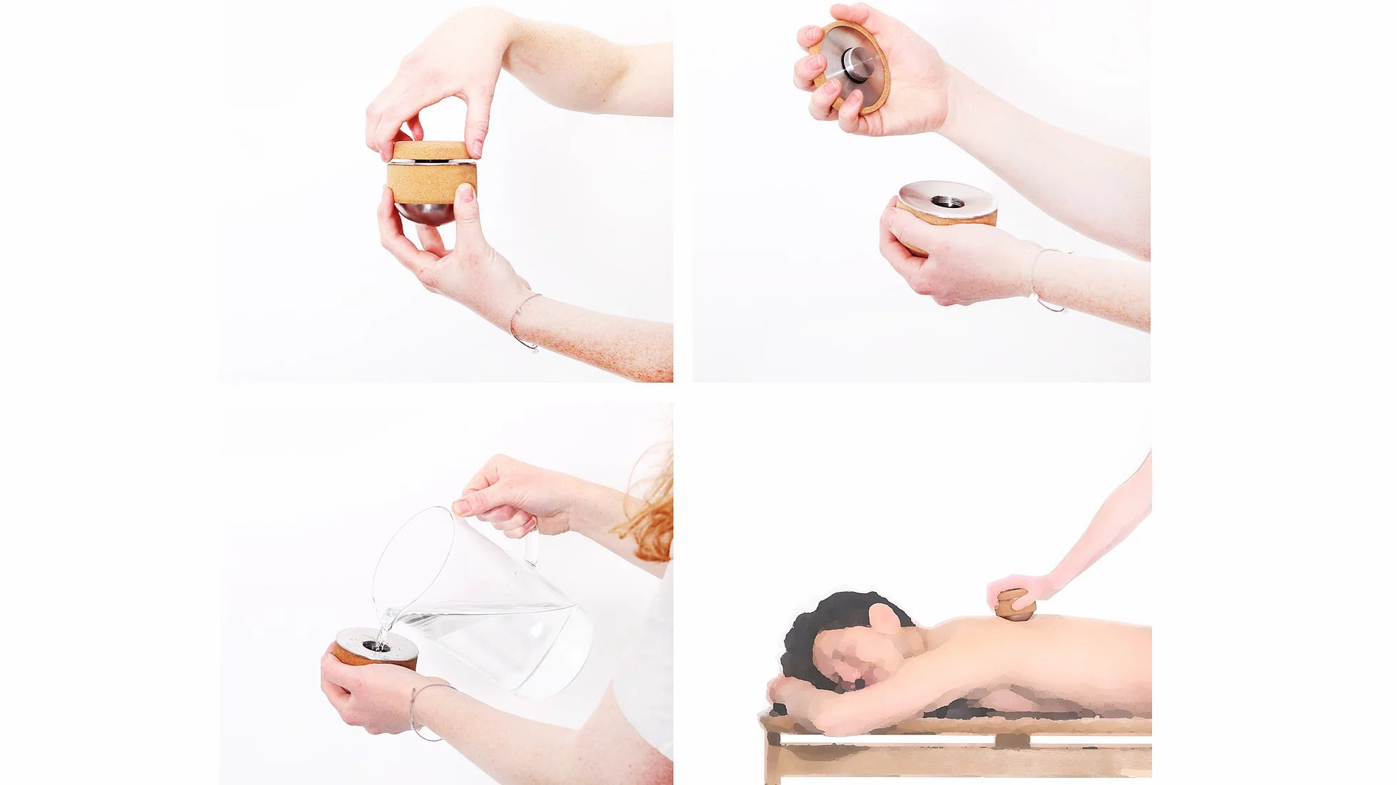 Kenko Cork Massage Ball