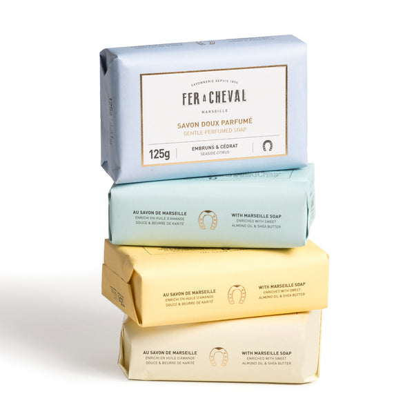 Fer à Cheval Set of 4 Scented Soaps in Gift Box
