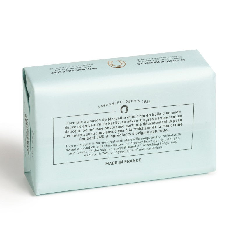 Fer à Cheval Gentle Perfumed Soap Bar - Aqua Tangerine 125g