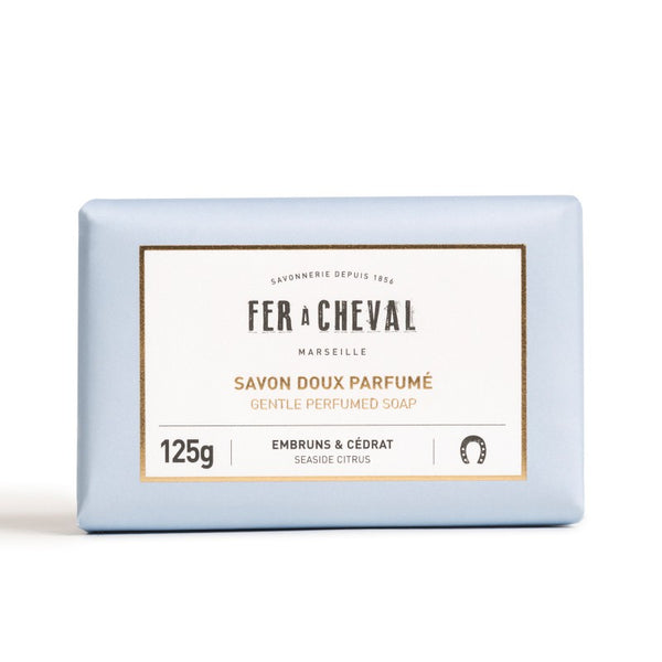 Fer à Cheval Gentle Perfumed Soap Bar - Seaside Citrus 125g