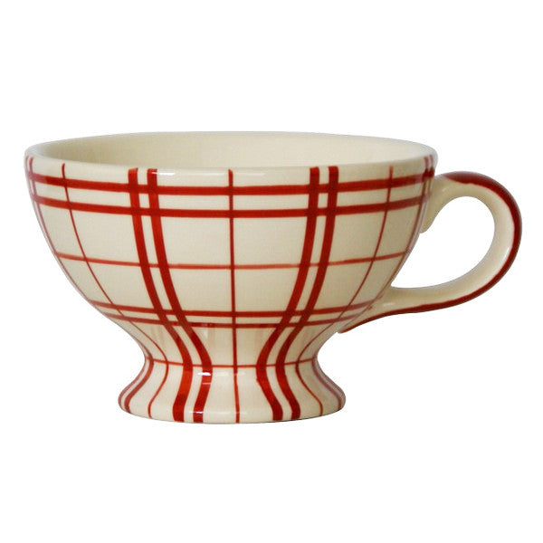 Campagne Red Jumbo Cup Plaid