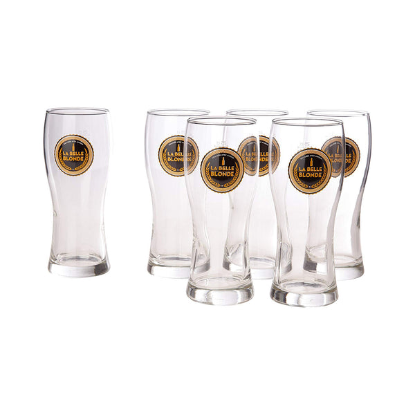 La Belle Blonde Beer Glass