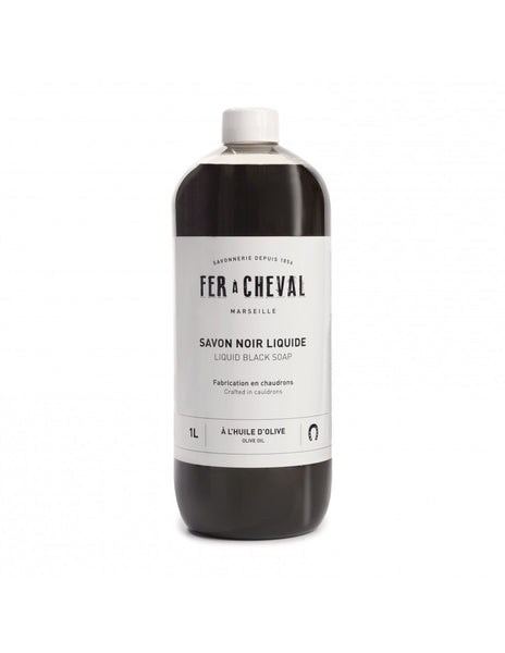 Fer à Cheval Liquid Black Soap Olive Oil 1L