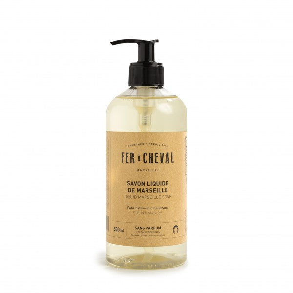 Fer à Cheval Genuine Marseille Liquid Soap Unscented 500m