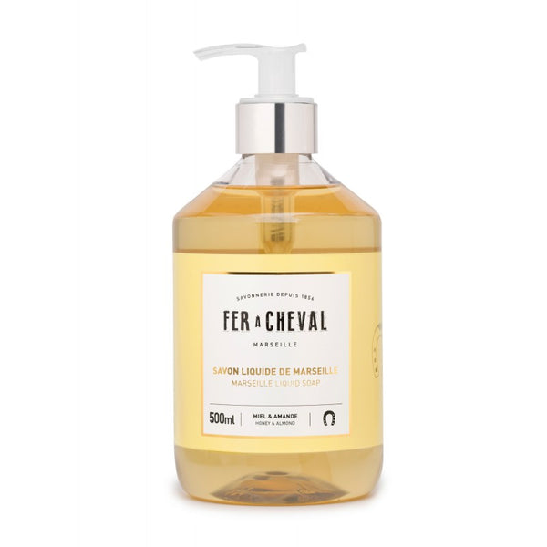 Fer à Cheval Marseille Liquid Soap Honey & Almond 500ml