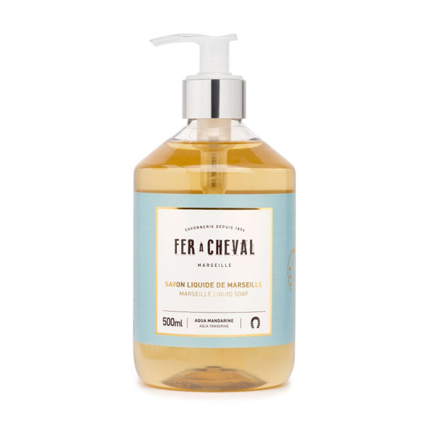 Fer à Cheval Marseille Liquid Soap Aqua Tangerine 500ml