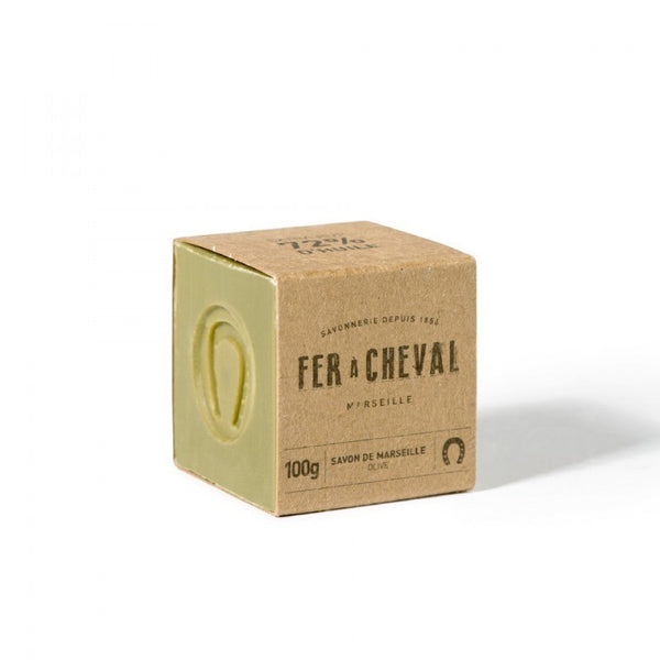 Fer à Cheval Genuine Marseille Soap - Olive Oil 100g Cube