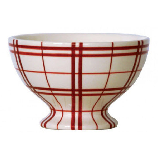 Campagne Red Mini Bowl Plaid