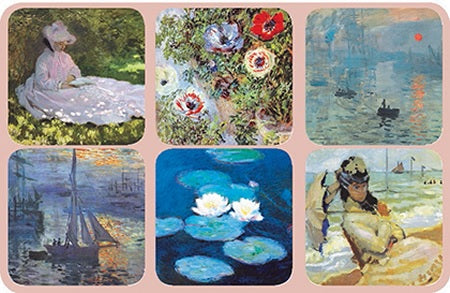 Monet S/6 Coasters Edition 2